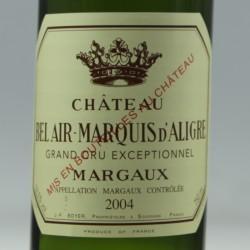 Château Bel Air - Marquis d'Aligre aop Margaux 2004