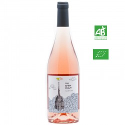 Jeff Carrel VU D'EN HAUT vdf rosé 75 cl