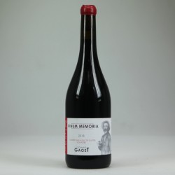 Dom.Gaget VINUM MEMORIA aop Beaujolais-Villages rouge 75 cl