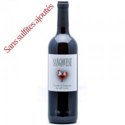 Jeff Carrel SANGIOVESE Vin de France rouge 75cl