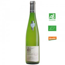 Camille Braun RIESLING aop Alsace blanc 75 cl