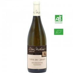 Dom.Alain MATHIAS aop Bourgogne TONNERRE Côte de Grisey blanc 75cl