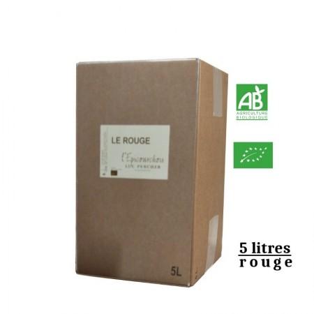L'Epicourchois LE ROUGE vdf BIB rouge 5L