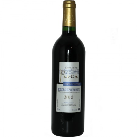 Château de Piote cuvée PRESTIGE aop Bordeaux supérieur  rouge 75 cl