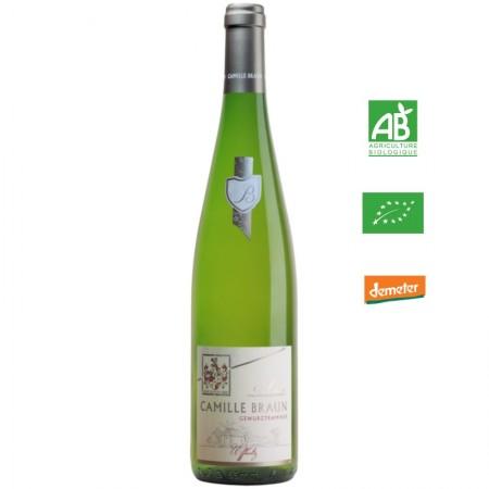 Camille Braun GEWURZTRAMINER uffholtz aop Alsace blanc 75 cl
