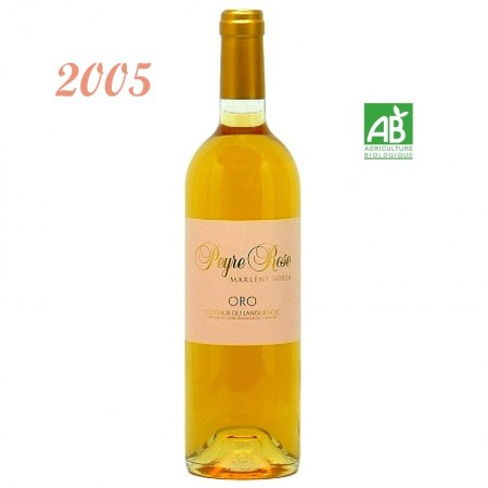 ORO PEYRE ROSE AOC LANGUEDOC 2005 blanc 75cl