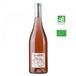 Les Vins de Jo GROLOLO Vin de France rosé 75 cl