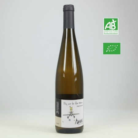 Jean-Louis Mann PINOT BLANC Fly To The Moon aop Alsace aop Alsace blanc 75cl