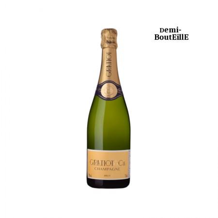 Gratiot & Cie ALMANACH N°1 Champagne blanc 37.50 cl