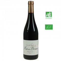 MAS DES BRUNES CIGALES igp Thongues rouge 75cl