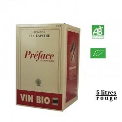 Domaine Luc Lapeyre BIB 5L PREFACE rouge vdf