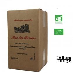 MAS DES BRUNES igp Côtes deThongue BIB rouge 10L