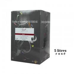Dom.de l'Epinay PEGASE igp Val de Loire BIB rosé 5L